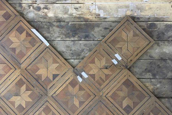 Z historie dřevěných podlah